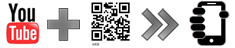 YouTube Video via a QR code